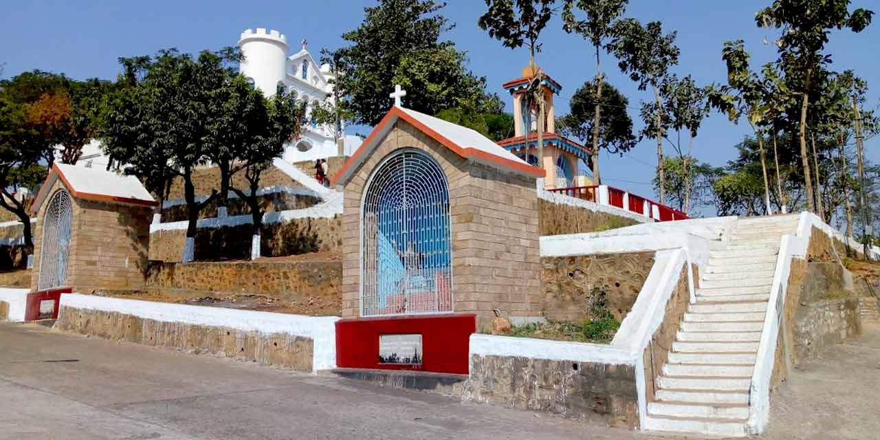 Ross Hill Church, Vizag Top Places to Visit in Three Days