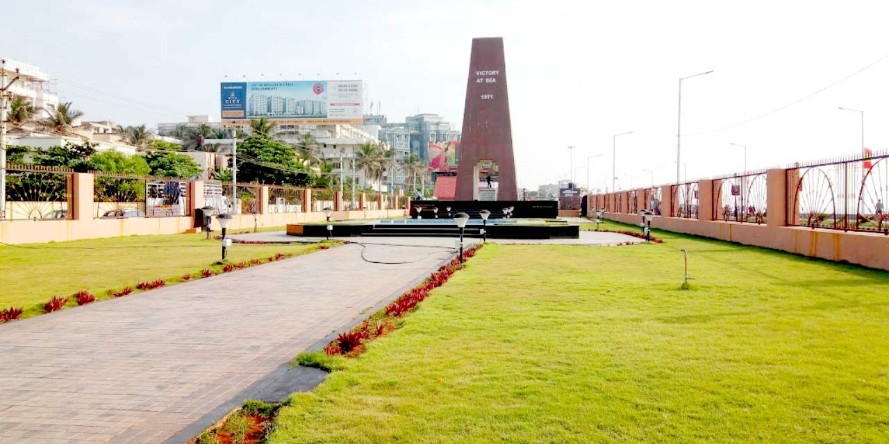 Victory at Sea Memorial, Vizag Top Places to Visit
